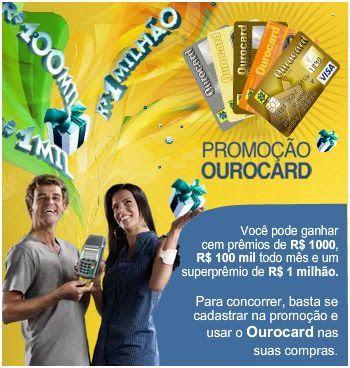Promoção Ourocard concorra