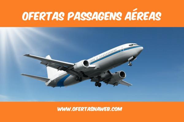 Promoções de passagens aéreas
