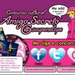 Concurso amigo secreto: sorteio de iPods e CDs 