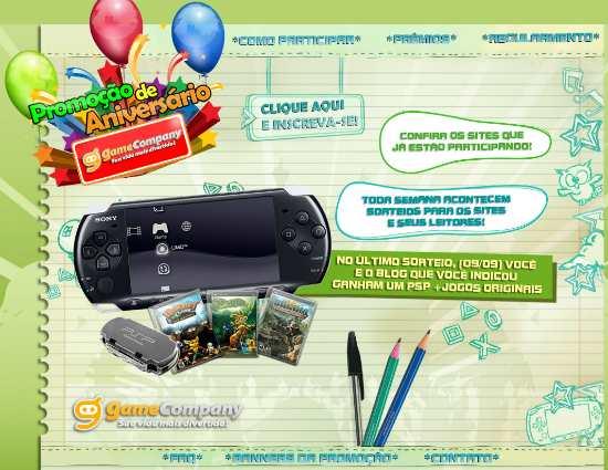 aniversário game company