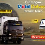 Promoo Mobil sorteia GPS e caminho Mercedes Benz 0km