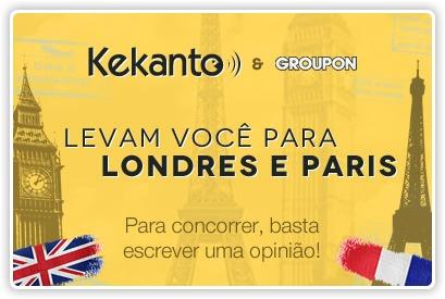 Concurso cultural Kekanto e Groupon