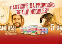 cup noodles nissin promocao