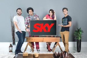 sky aniversário promoção