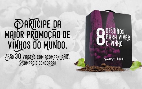 Promoção Wine sorteia viagens