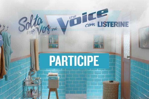 Listerine no The Voice