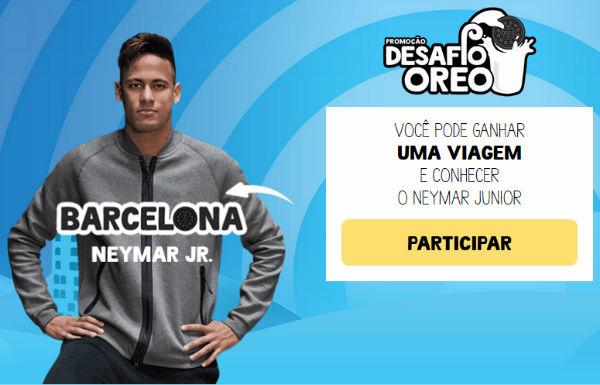 desafio oreo neymar
