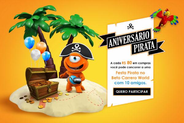 aniversário pirata PBKids