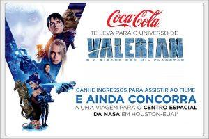 promoção coca cola valerian