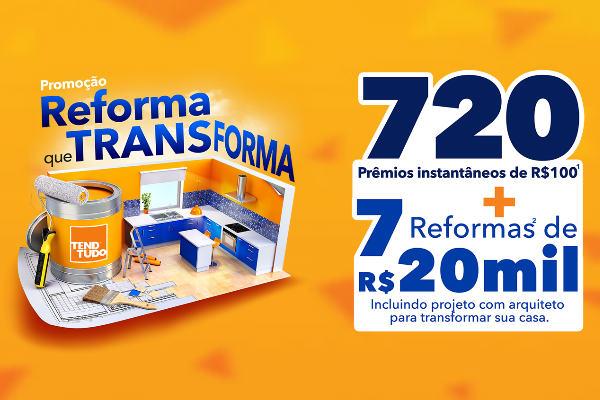 promoção reforma que transforma