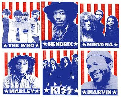 Posters de grandes músicos
