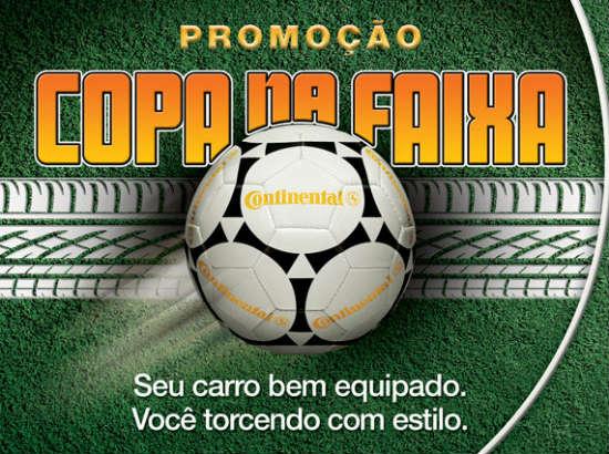 Promoção Copa na Faixa