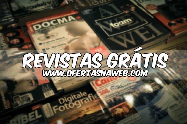 13 revistas para pedir gratuitamente