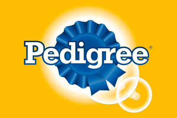 amostras de ração Pedigree