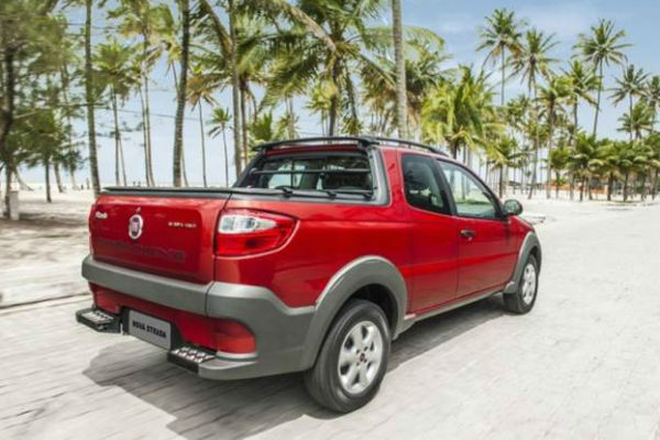 Concorra a automóveis Fiat Strada