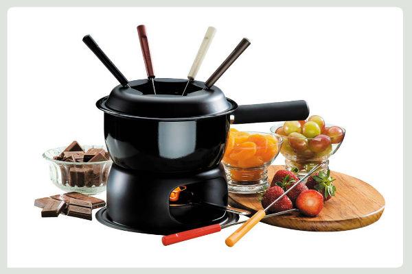 Concorra a aparelhos de fondue