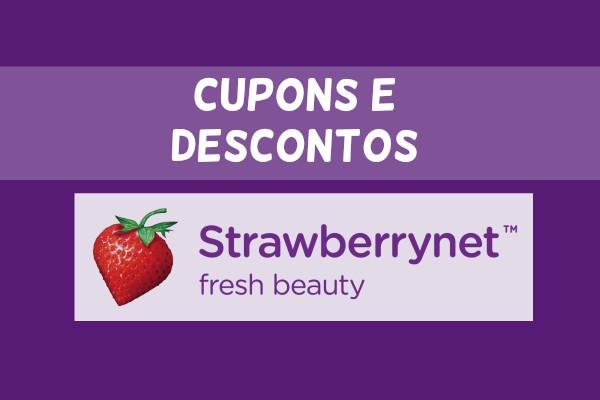 Descontos e cupons Strawberry junho