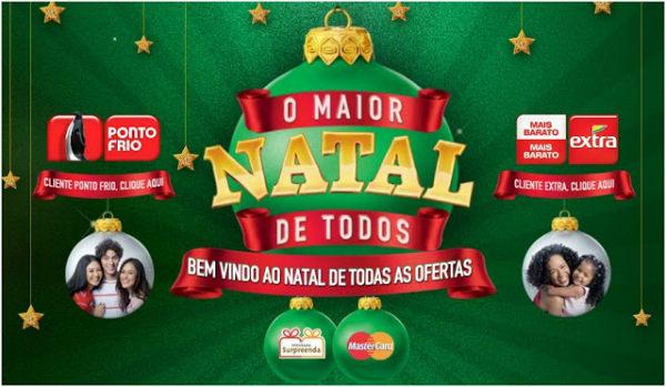 Promoção o maior Natal de todos