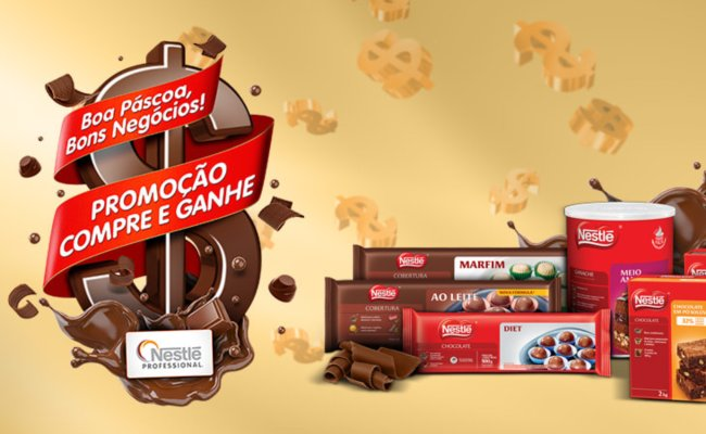 Promoção Páscoa chocolover Nestlé