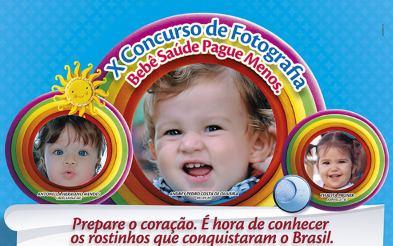 Concurso de fotografia bebê saúde