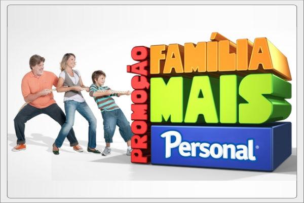 Promoção família mais personal