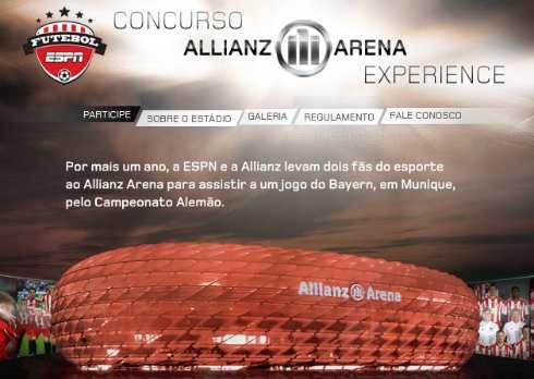 Concurso Cultural Allianz Arena Experience 2010