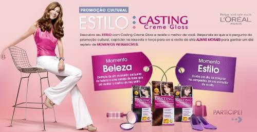 Promoção estilo casting creme gloss