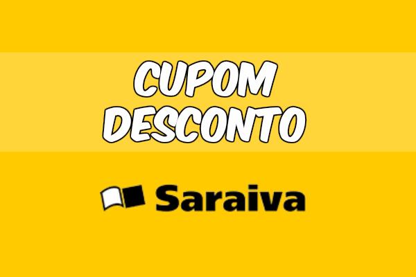 Cupom desconto Saraiva até 20% OFF