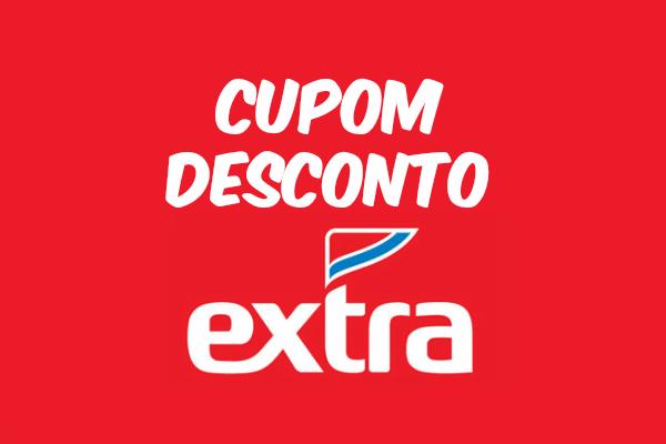 Cupom desconto exclusivo Extra