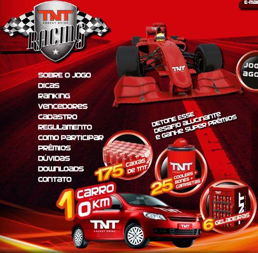 Promoção TNT Racing