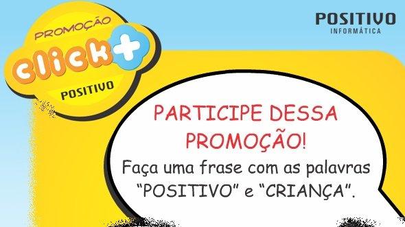 Promoção click positivo