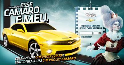 Promoção Chevrolet