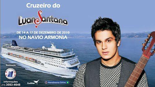 Promoção cruzeiro do Luan Santana