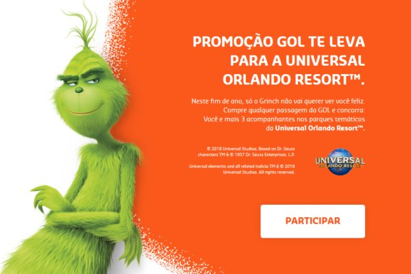 viagem para o Universal Orlando Resort