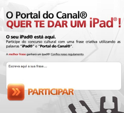 Concurso do portal do canal