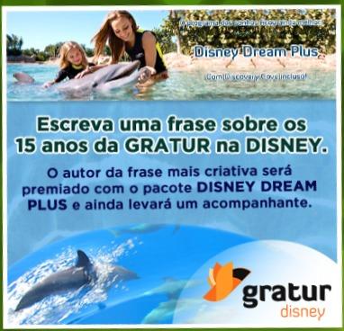 Concurso Gratur Disney dream plus