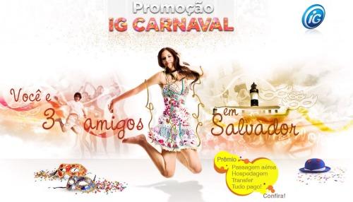 Promoção iG carnaval