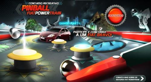 Concurso pinball Fiat powertrain