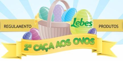 caça aos ovos Lojas Lebes