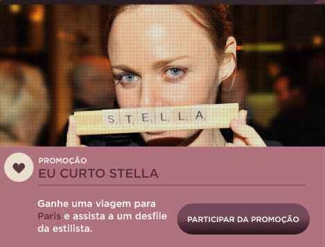 Promoção C&A eu curto Stella