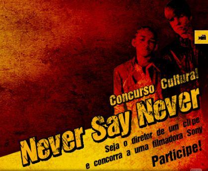 Concurso never say never