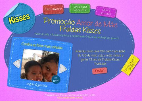 Promoção amor de Mãe Kisses