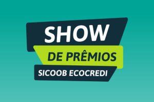 promoção show de premios