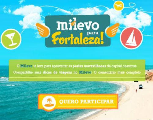 Promoção Milevo para Fortaleza