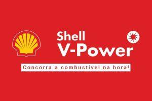 Promoção Shell V-Power grátis