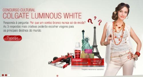 Concurso Colgate Luminous White