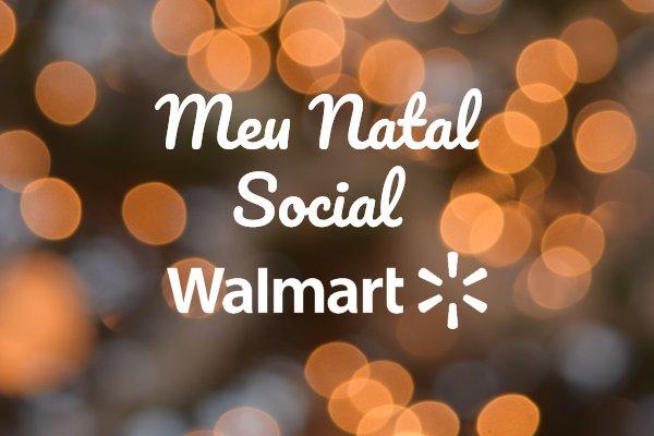 meu natal social walmart