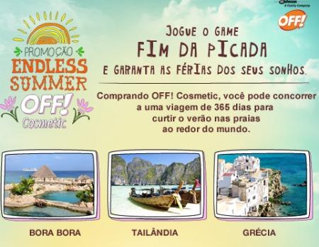Promoção Endless Summer