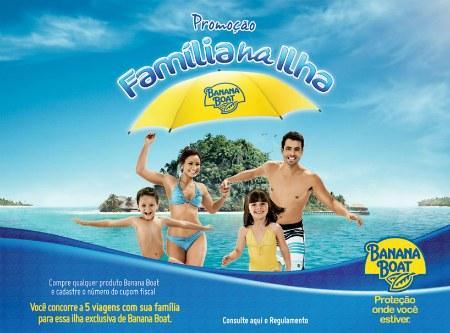 Promoção Família na Ilha