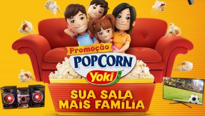 Promoção Pop Corn Yoki